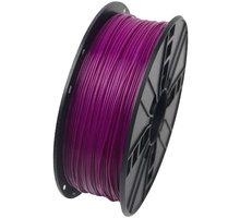 Gembird tisková struna (filament), PLA, 1,75mm, 1kg, fialová