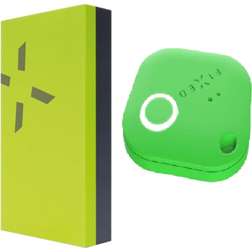 FIXED Key finder Smile s motion senzorem + Powerbanka FIXED Zen Power 12000 mAh, zelená