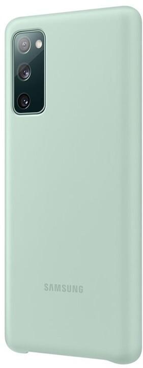 Samsung silikonový kryt pro Galaxy S20 FE, světle zelená
