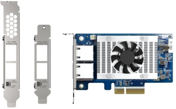 QNAP QXG-10G2T-X710 dvouportová síť 10GbE