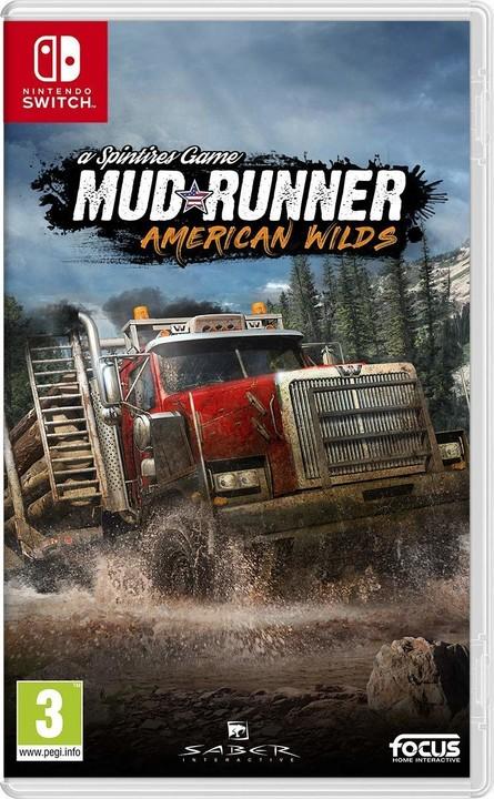 Spintires: MudRunner - American Wilds Edition (SWITCH)