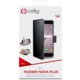 CELLY Wally pouzdro typu kniha pro Huawei Nova Plus, PU kůže, černé