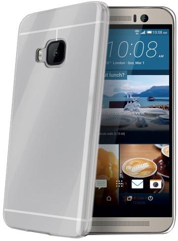 CELLY Gelskin pouzdro pro HTC One M9, bezbarvé