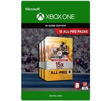 Madden NFL 17 - 15 All-Pro Packs (Xbox ONE) - elektronicky - 7D4-00141