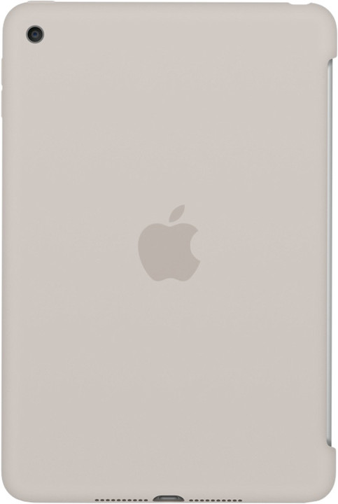 Apple iPad mini 4 Silicone Case, stříbrná