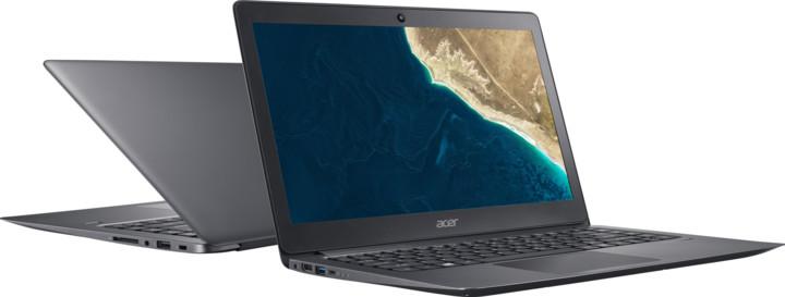 Acer TravelMate X3 (TMX349-M-54HF), šedá