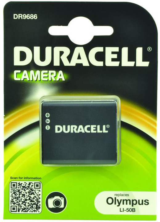 Duracell baterie alternativní pro Olympus LI-50B