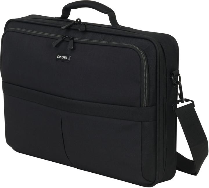 """DICOTA Multi SCALE - Brašna na notebook - 17.3"""" - černá"""