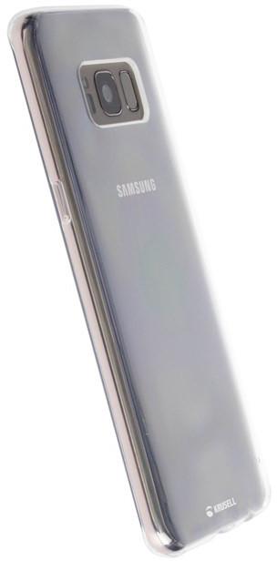 Krusell BOVIK zadní kryt pro Samsung Galaxy S8, transparentní