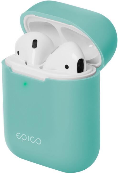 EPICO silikonový pouzdro pro Airpods Gen 2, světle modrá