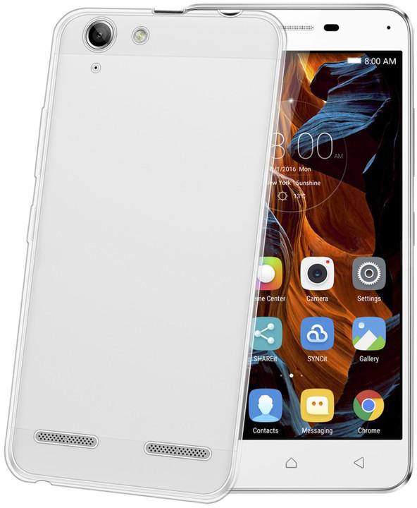 CELLY Gelskin TPU pouzdro pro Lenovo Vibe K5, bezbarvé