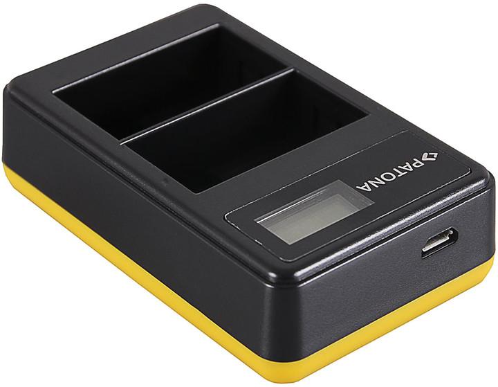Patona nabíječka Foto Dual LCD Nikon EN-EL15 USB
