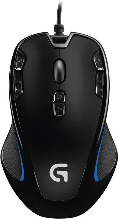 Logitech G300s, černá