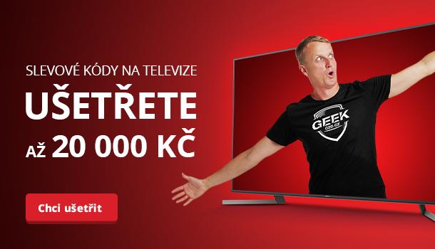 Ušetřete až 20 000 Kč při nákupu televize