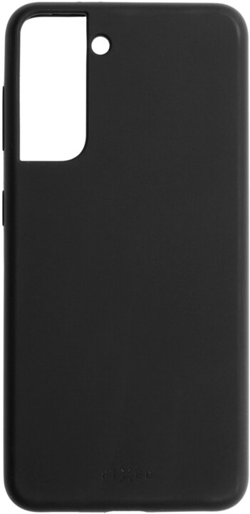 FIXED silikonový kryt Flow pro Samsung Galaxy S21+, černá