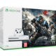 XBOX ONE S, 1TB, bílá + Gears of War 4
