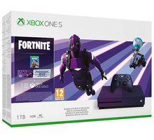 XBOX ONE S, 1TB, fialová + Fortnite Battle Royale Special Edition