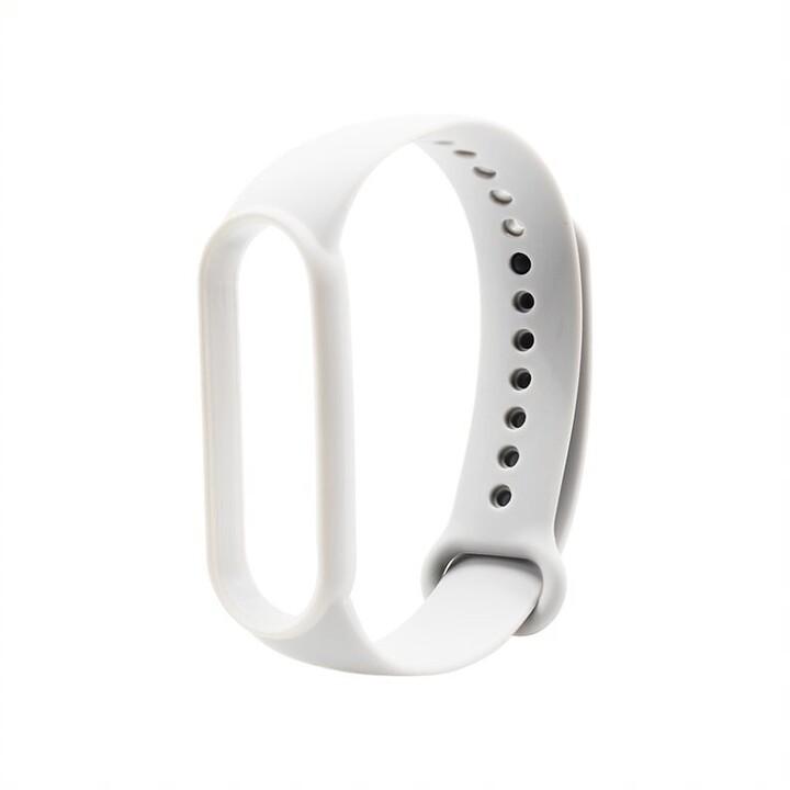 MAX silikonový řemínek MXS51 pro Mi Band 5, bílá
