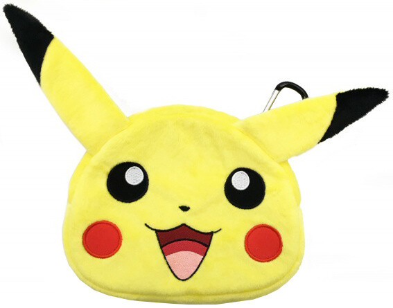 Hori Universal Plush Pouch, Pikachu