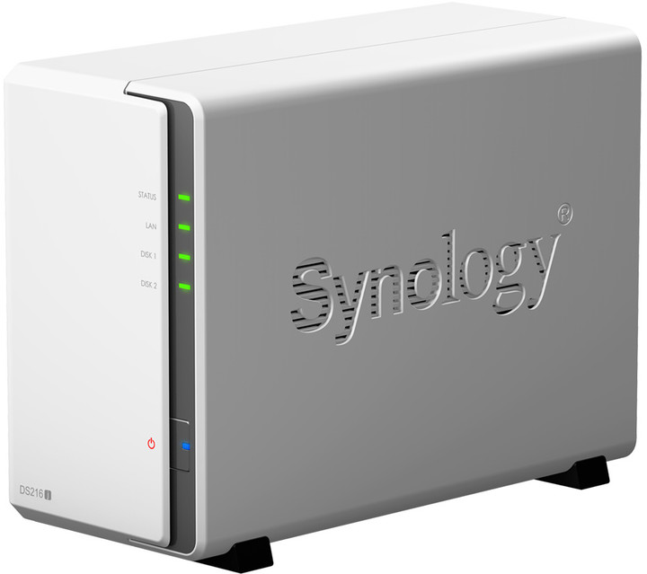 Synology DS216j DiskStation (2x 4TB)