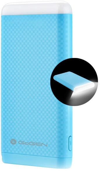 GoGEN 4000 mAh, svítilna, modrá