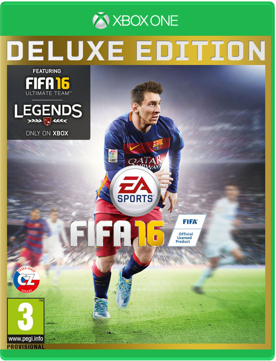 FIFA 16 - Deluxe Edition (Xbox ONE)