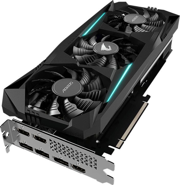 GIGABYTE Radeon AORUS RX 5700 XT 8G rev 2.0, 8GB GDDR6