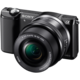 Sony Alpha 5000 + 16-50mm, černá  + Voucher až na 3 měsíce HBO GO jako dárek (max 1 ks na objednávku)