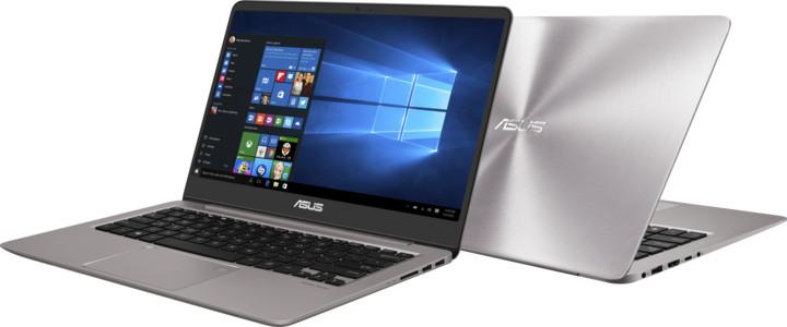 ASUS ZenBook 14 UX410UA, šedá