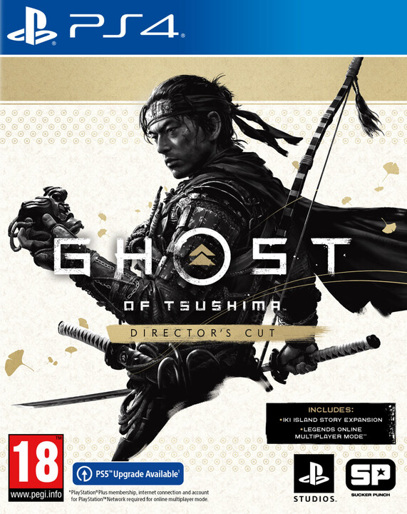 Ghost of Tsushima - Director's Cut (PS4)