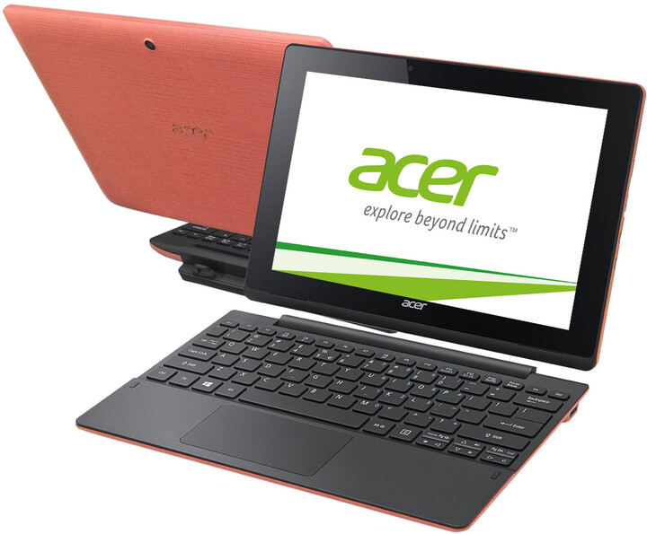 Acer Aspire Switch 10E (SW3-016-192K), červeno/černá