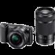 Sony Alpha 5100 + 16-50mm + 55-210mm, černá  + 300 Kč na Mall.cz