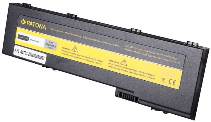 Patona baterie pro ntb HP 2760p 3600mAh Li-Ion 11,1V HSTNN-CB45