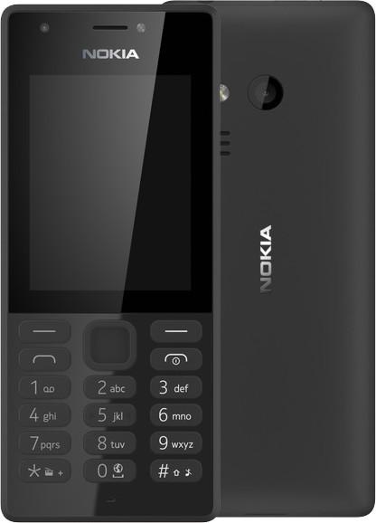 Nokia 216, Single Sim, černá