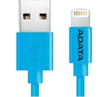 ADATA Synchronizační a napájecí kabel, USB, MFi (iPhone, iPad, iPod), 1m, modrý