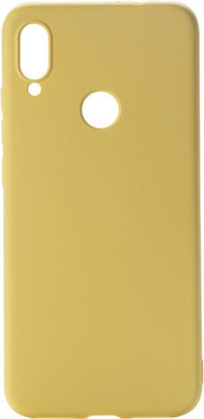 EPICO silikonový kryt CANDY pro Xiaomi Redmi Note 7, žlutá