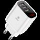 Baseus cestovní nabíječka Mirror Lake 3 USB 3.4A (EU), bílá