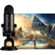 Blue Microphones Yeti, černá + Assassin's Creed Origins
