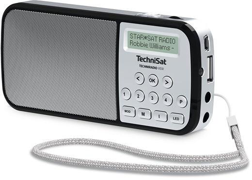 TechniSat TechniRadio RDR, stříbrná