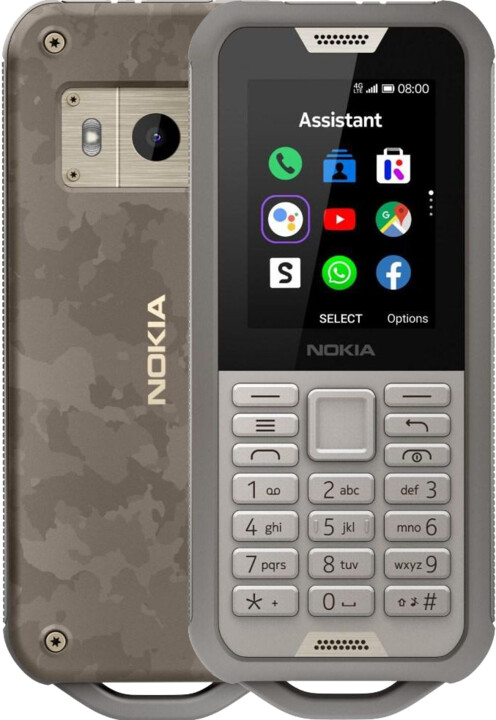Nokia 800 Tough, Grey