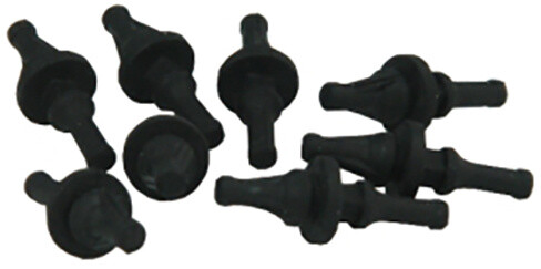 GELID Solution Silent Rubber Fan Mounts Black