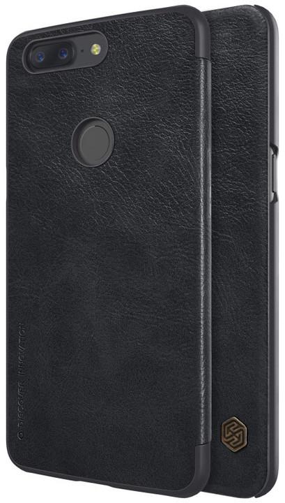 Nillkin Qin Book pouzdro pro OnePlus 5T, Black