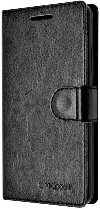 FIXED FIT pouzdro pro Lenovo A6010, kolekce RedPoint, černá
