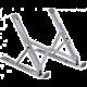 COTEetCI přenosný podstavec SD-12 pro notebook, hliník, šedá