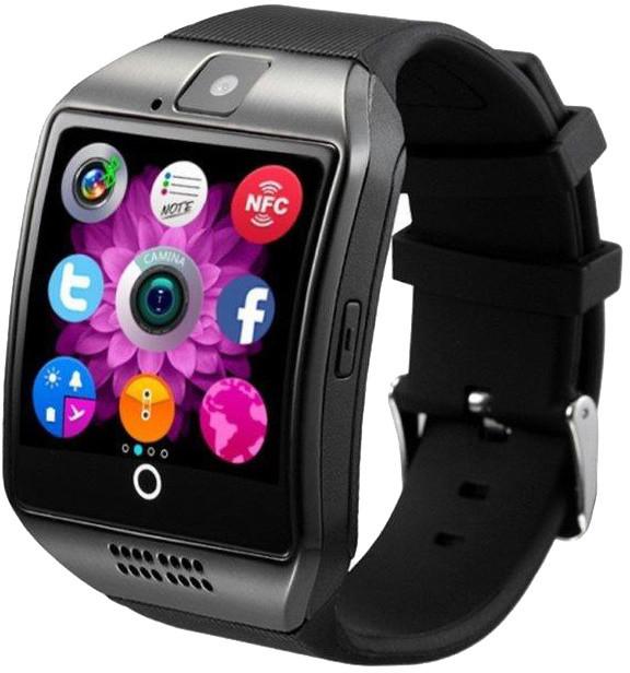 IMMAX chytré hodinky SW7, černá