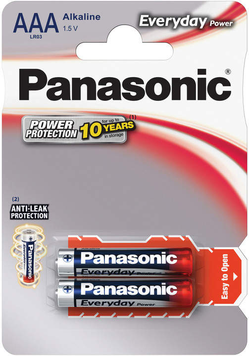 Panasonic baterie LR03 2BP AAA Ev Power alk