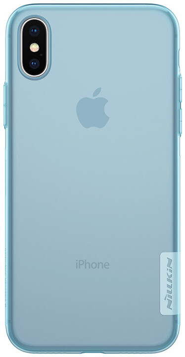 Nillkin Nature TPU pro iPhone X, Blue