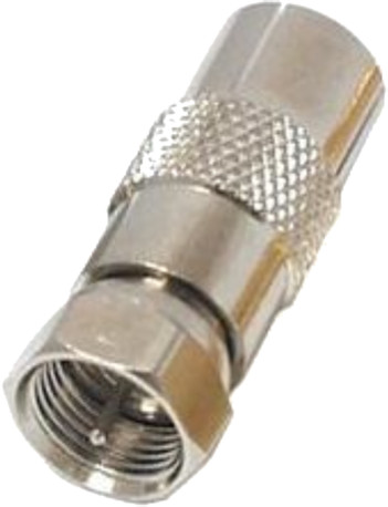 PremiumCord adaptér, redukce F vidlice / IEC zásuvka