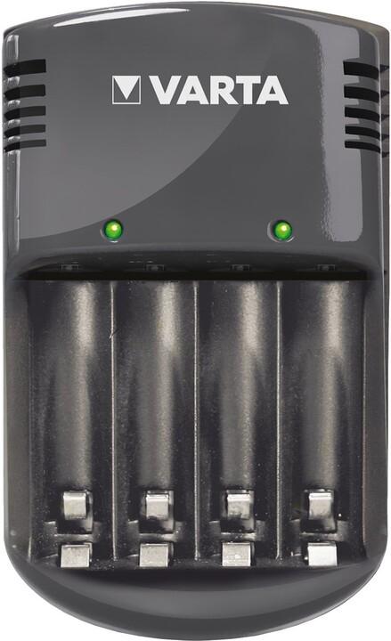 VARTA Quattro Charger + 4ks AA 2100 mAh