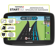 TOMTOM START 52 Europe Lifetime mapy - 1AA5.002.03